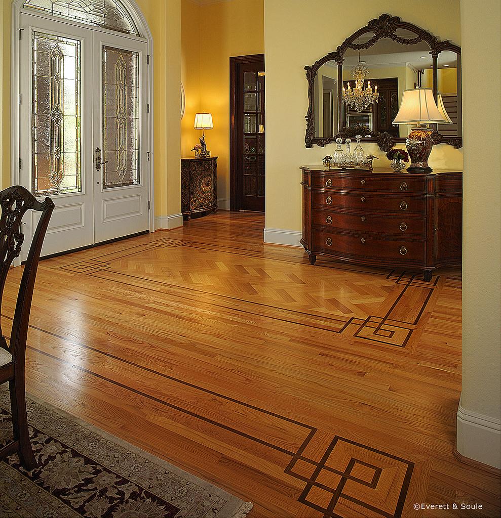 Foyer Hardwood Floors : Foyer floor ability wood flooring
