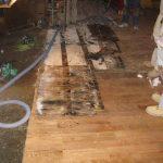 water damage restoration demo day