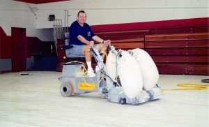 ability wood flooring in gym