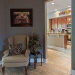 Wood-Look Tile Flooring in Entryway