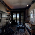 Custom Black Oak Flooring in Lounge