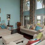 Brazilian Cherry Rouge Flooring in Living Room