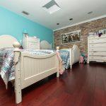 Brazilian Cherry Rouge Flooring in Bedroom