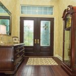 Copaiba Lava Wood Flooring in Entryway