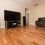 Brazilian Amendoim Wood Flooring in Living Room