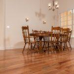 Brazilian Amendoim Wood Flooring in Dining Room