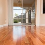 Brazilian Amendoim Wood Flooring in Foyer