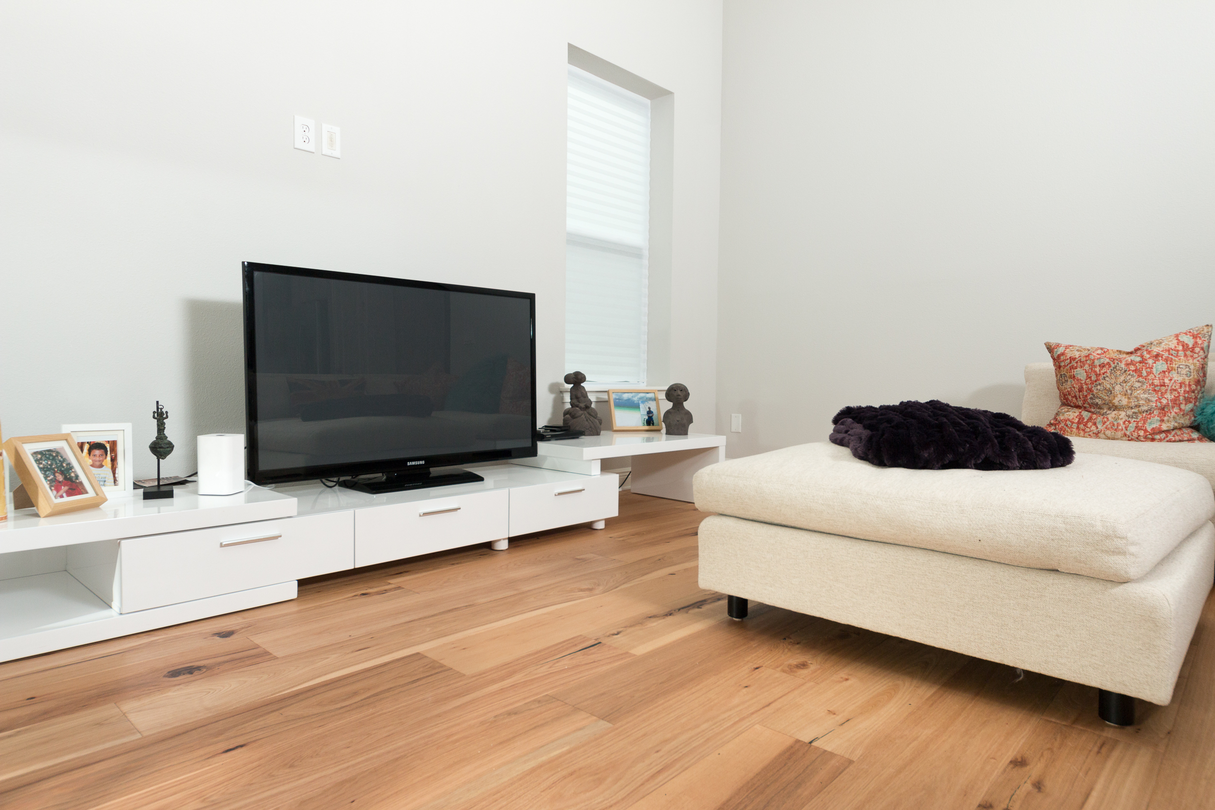 Wire-Brushed Natural Hickory - Ability Wood Flooring