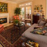 Mirage Sierra Oak Wood Flooring with fireplace