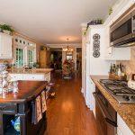 Mirage Sierra Oak Wood Flooring in Kitchen with Island