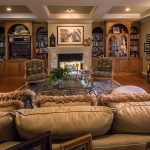 Mirage Sierra Oak Wood Flooring in Family Room