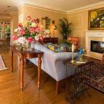 Mirage Sierra Oak Wood Flooring with flowers