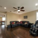 Spanish Hickory Blackhills Wood Flooring in Living Room