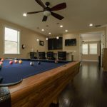 Spanish Hickory Blackhills Wood Flooring in Rec Room