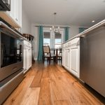 Champagne Hickory flooring kitchen
