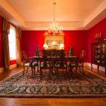 Gunstock Solid Oak flooring formal dining area