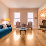 Gunstock Solid Oak flooring sitting room