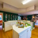 Gunstock Solid Oak flooring kitchen, dining room and sitting room