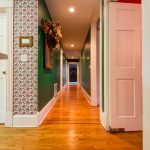 Gunstock Solid Oak flooring hall way