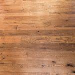 European White Oak flooring close up view