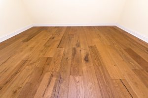 European White Oak flooring straight view