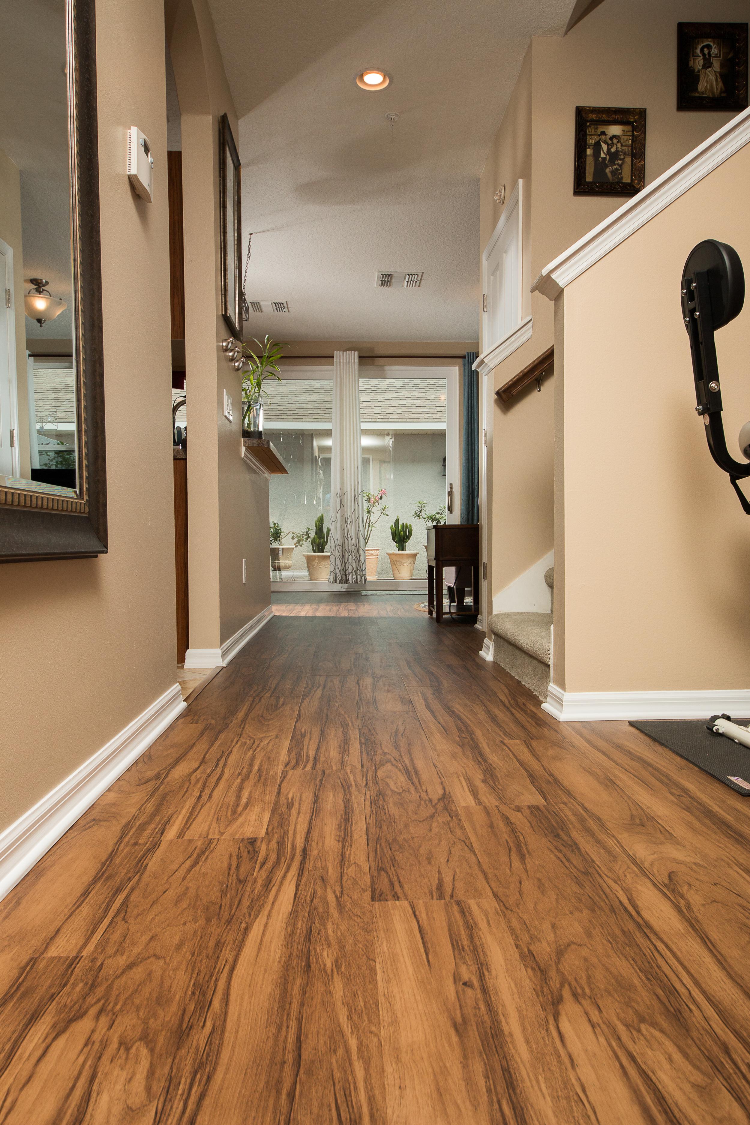 PVC Vinyl U0026 Gray Carpet Flooring Hallway