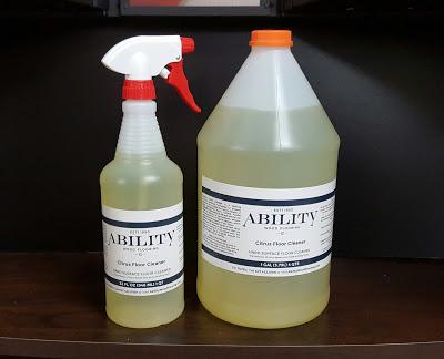 Ability Citrus Floor Cleaner