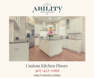 Custom Kitchen Floors in Winter Park