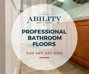 CUSTOM BATHROOM FLOORS WINTER PARK