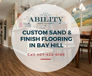 Sand & Finish Bay Hill