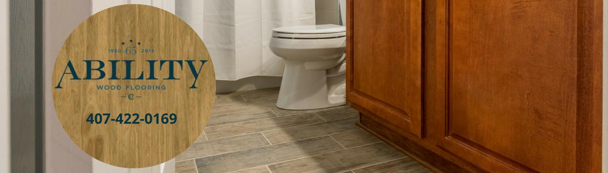 Custom Bathroom Floors Longwood, Florida