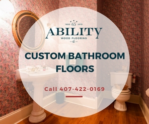 Custom Bathroom Floors Lake Nona Florida